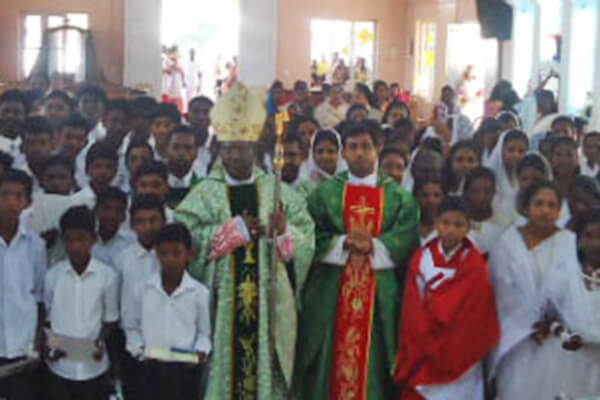Confirmation at Chegalam